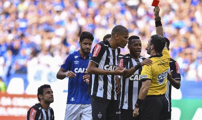 Leonardo Silva; Fred; Atlético-MG (Foto: Agência I7/Mineirão)