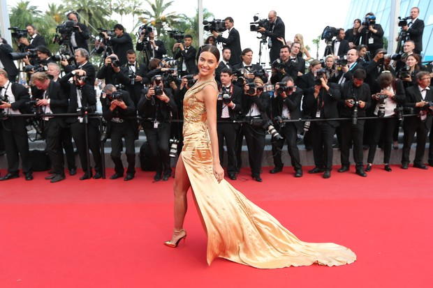 Irina Shayk no Festival de Cannes (Foto: AFP)