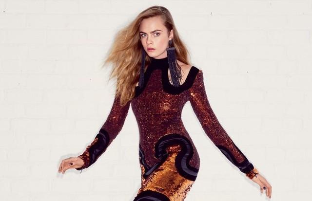 Cara Delevingne  (Foto: Acervo Vogue)