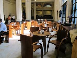 Museu do Café, em Santos (Foto: Mariane Rossi/G1)
