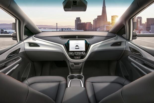 O Cruise AV é a quarta geração de carros autônomos da GM (Foto: Divulgação)