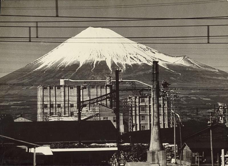 Monte Fuji, por Gen Otsuka, Japão, 1955 (Foto: Masako Otsuka/The J. Paul Getty )