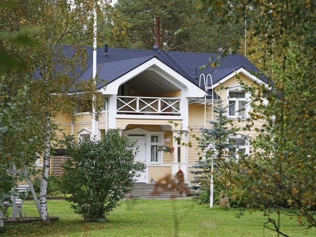Casa de campo do primeiro-ministro finlandês poderá receber refugiados (Foto: REUTERS/Timo Heikkala/Lehtikuva)