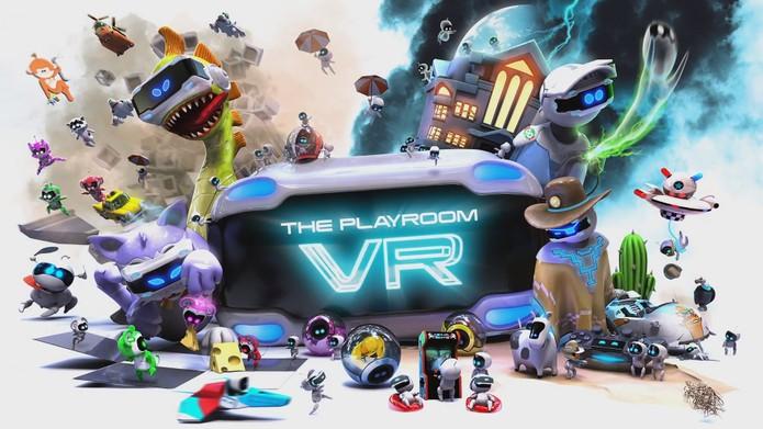 PlayRoom VR é game gratuito para o VR no pS4 (Foto: Divulgação/Sony)