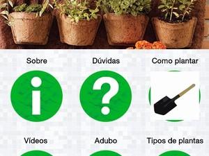 Aplicativo horta de Rio das Ostras (Foto: Leonardo Veloso/Arquivo pessoal)