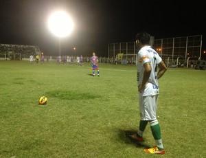 Gurupi pressionou o Plácido de Castro no segundo tempo (Foto: Vilma Nascimento/GLOBOESPORTE.COM)
