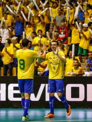 Brasil x Guatemala - Grand Prix - Leandro e Pepita (Foto: Marcelo Zanbrana)
