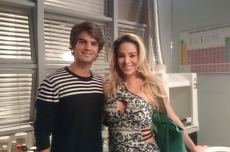 Daniel Blanco e Danielle Winits  (Foto: Divulgação)