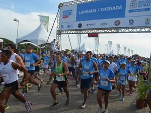 Meia-maratona de Rio das Ostras (Foto: Mauricio Rocha/Secom Rio das Ostras)