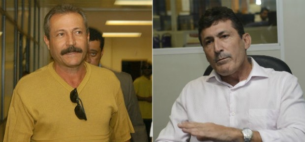 Acusados de mandarem matar juiz (Foto: Arte/ A Gazeta)