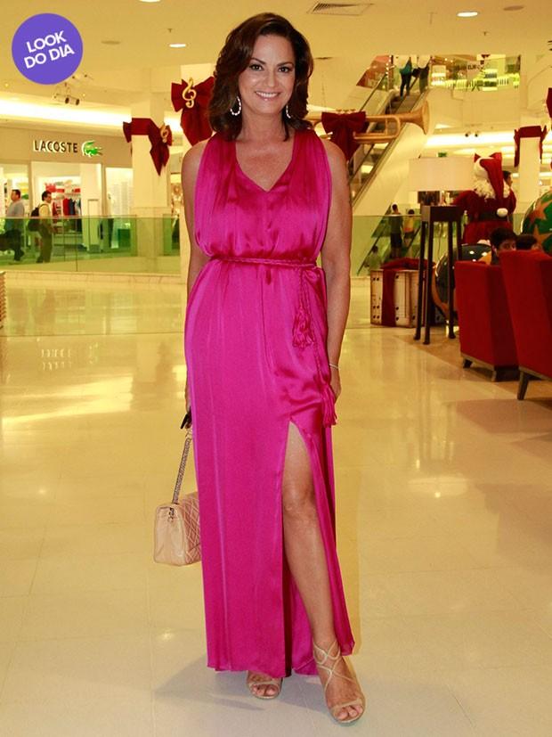 Luiza Brunet - Look do Dia (Foto: Isac Luz / EGO)