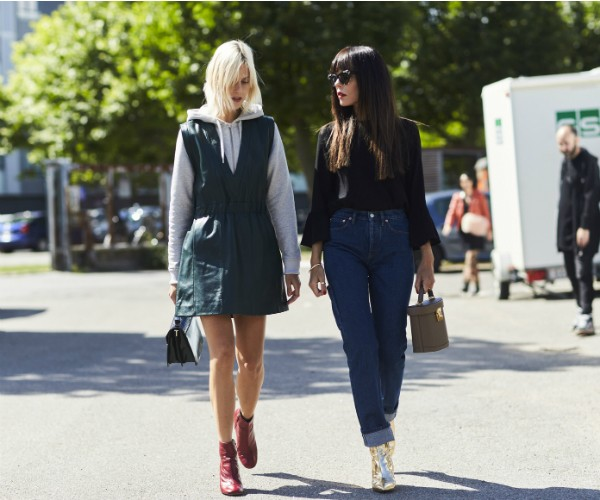 Street style nas ruas de Copenhague (Foto: Imaxtree)