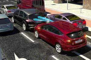 Ford explica sistema de frenagem autônoma (Foto: Divulgação)
