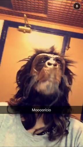 Mauricio Destri (Foto: Snapchat / Reprodução)