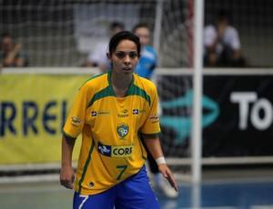 Vanessa Pereira - Melhor jogadora de futsal do mundo (Foto: Arquivo CBFS)
