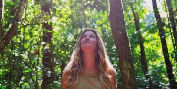 Gisele fala sobre reserva mineral da Floresta Amazônica:  (Foto: Reprodução/ Instagram)
