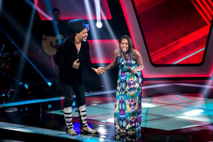 Bela Maria é do Time Brown no The Voice Kids (Foto: Isabella Piinheiro/Gshow)