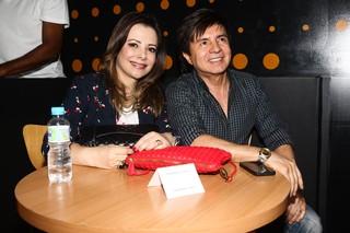 Noely e Xororó em show em São Paulo (Foto: Manuela Scarpa/ Foto Rio News)