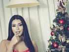 Cintia Vallentim leiloa lingerie para ajudar crianças carentes
