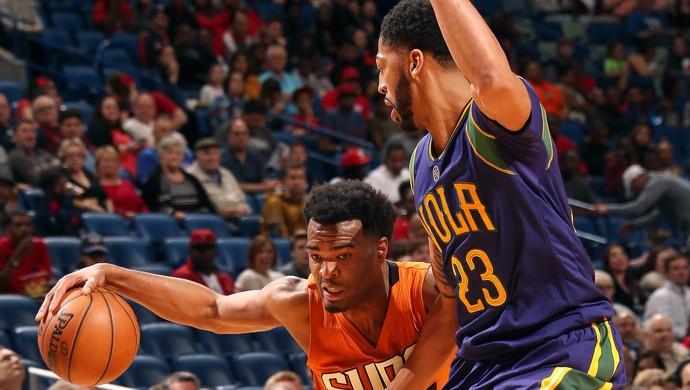 New Orleans Pelicans venceu o Phoenixx Suns com mais um show de Anthony Davis (Foto: Divulgação/Pelicans)
