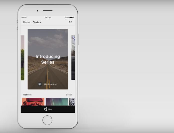 Medium 'lança Snapchat que não desaparece em 24h'; entenda a plataforma Series (Foto: Divulgação/Medium)
