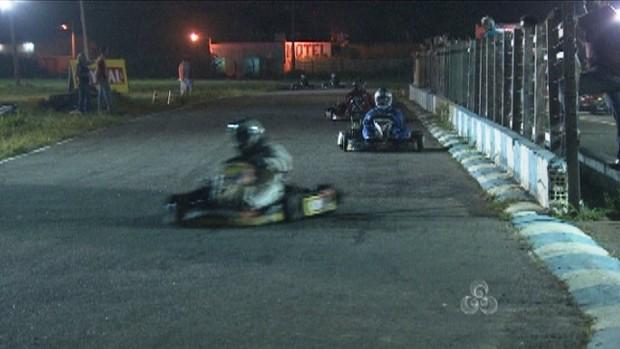 Campeonato de Kart terminou neste final de semana em Porto Velho, RO (Foto: Reprodução/Tv Rondônia)