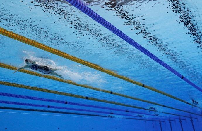 GALERIA - Katie Ledecky lidera com larga vantagem a final dos 800m livre (Foto: Adam Pretty/Getty Images)