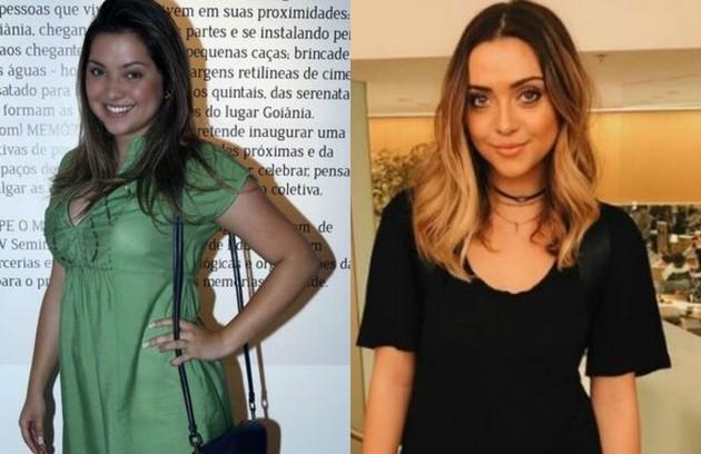 Polliana Aleixo engordou 8kg para interpretar Bárbara na novela 'Em família'. No decorrer da trama, teve de emagrecer por conta de uma virada da personagem. Hoje, está com 14kg a menos (Foto: Arquivo pessoal)