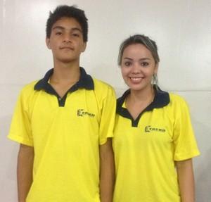 Victor Sandim, categoria juvenil e Lohanne Tavares do adulto foram eliminados nas quartas de finais mas garantem pontos no ranking (Foto: Karol Aood/GE-AP)