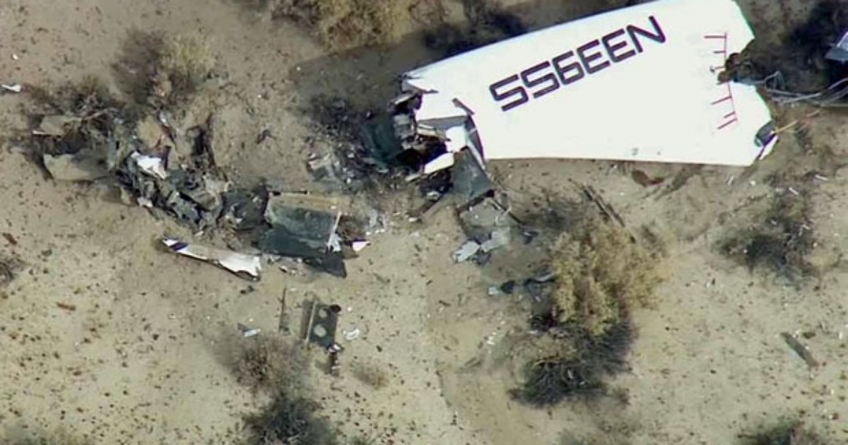 EUA investigam acidente em projeto de 'turismo espacial'
