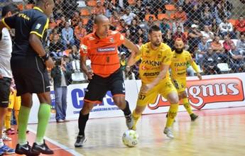Carlos Barbosa e Jaraguá empatam na estreia da Liga Nacional de Futsal: 1 a 1