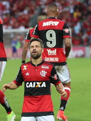 diego e guerrero (Foto: Gilvan de Souza/Flamengo)