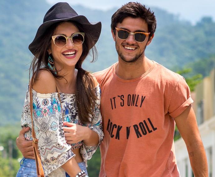Converse com a dupla no chat Malhação (Foto: Isabella Pinheiro/Gshow)