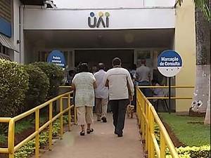 nidades de Atendimento Integrados (UAI), em Uberlândia. (Foto: Reprodução/TV Integração)