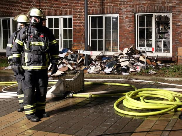 Jornal alemão é incendiado por causa de charges
