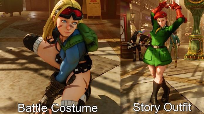 As Premium Battle Costumes de Street Fighter 5 dão um visual diferente para os tradicionais lutadores (Foto: Reprodução/Gosu Noob)