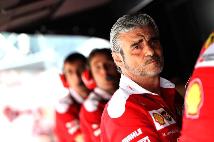 Maurizio Arrivabene, chefe da Ferrari (Foto: Getty Images)