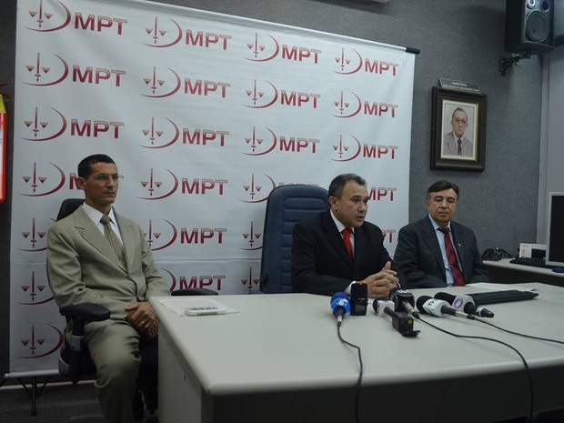 Balanço da operação carcará foi divulgado em entrevista coletiva (Foto: MPT/Divulgação)