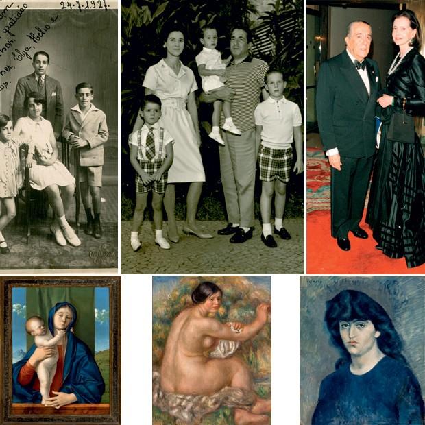 Família Moreira Salles (Foto: Acervo e Reprodução)