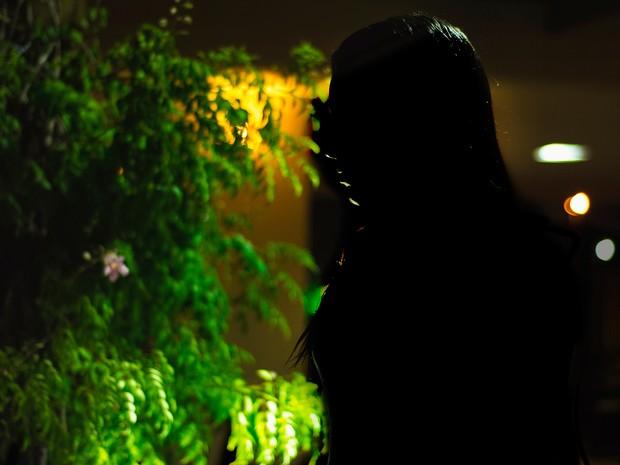 """""""Nunca havia cogitado que violência psicológica fosse caso de polícia"""", diz Clarice (Foto: Gustavo Dantas/G1)"""