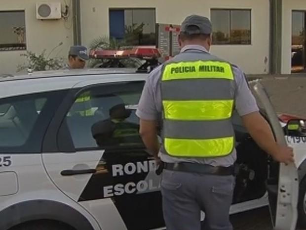Policiais militares que atuarem no período de folga serão remunerados  (Foto: Reprodução / TV TEM)