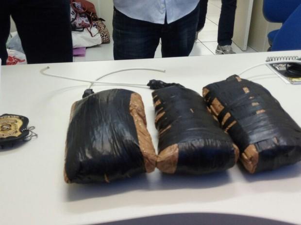 Explosivos foram apreendidos em Boa Viagem (Foto: Ascom Polícia Civil de Pernambuco)