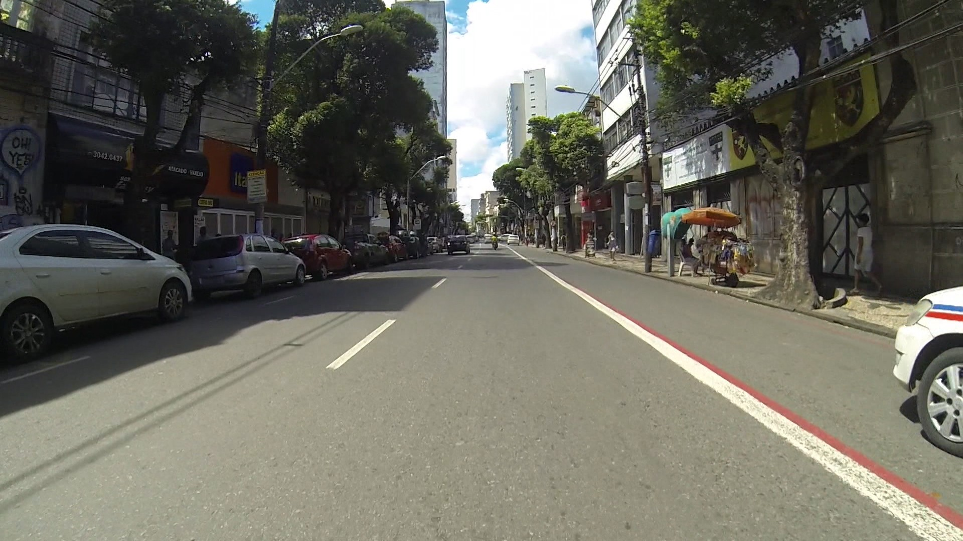A Avenida 7 de Setembro é atualmente um dos principais centros de comércio popular de Salvador (Foto: Divulgação)