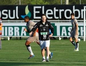 Argel Fucks, treino Figueirense (Foto: Carlos Amorim / Figueirense F.C.)
