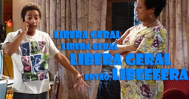 Pilha, libera geral! (Foto: Malhação / TV Globo)