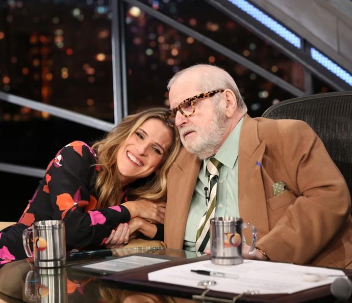 Ingrid Guimarães é entrevistada por Jô Soares (Foto: Carol Caminha/Gshow)