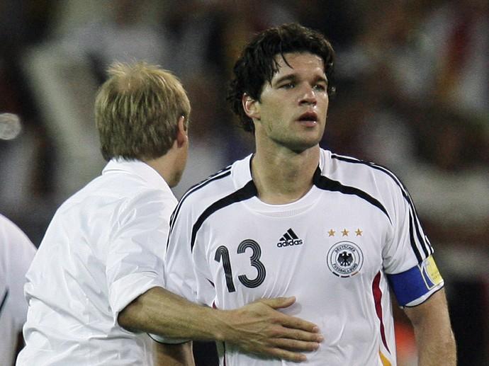 Ballack Alemanha 2006 (Foto: AP)