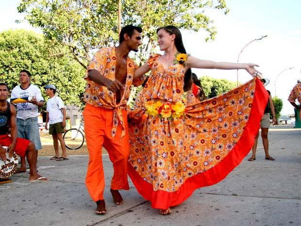 O carimbó é um dos ritmos mais presentes nas festas em Algodoal e Marudá (Foto: Ray Nonato/Amazônia Jornal)