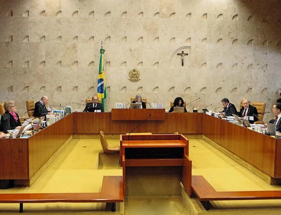 Supremo Tribunal Federal ,Curitiba acha que a Procuradoria-Geral da Repúbllica (PGR) cometeu uma falha estratégica ao imputar o crime de caixa 2 (Foto:  Agência Senado)