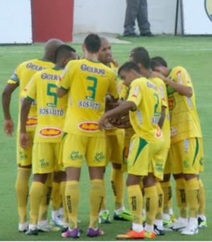 Jogadores do Mirassol, da Série A2 (Foto: Vinicius de Paula / Ag. Mirassol FC)